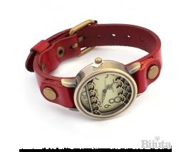 Часовник Бохо червен