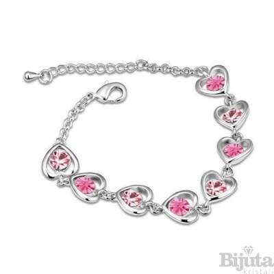 Гривна Сърца розе