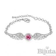 Гривна Ангелски крила розе