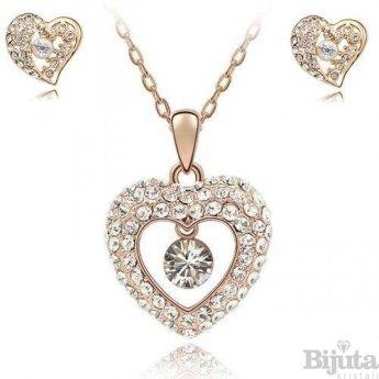 Комплект Златно сърце