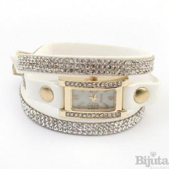 Часовник Belinda бял