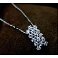 Колие-кристали Сваровски