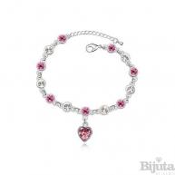 Гривна Сърце розе