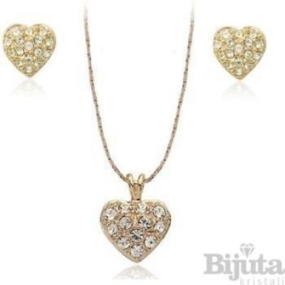 Комплект Златни сърца