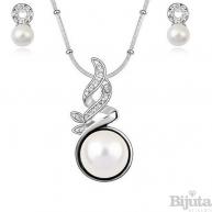 Комплект Бяла перла