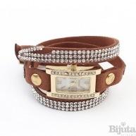 Часовник Belinda кафяв
