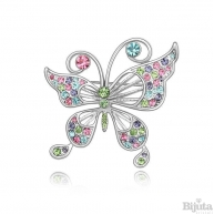 Брошка Пеперуда мулти