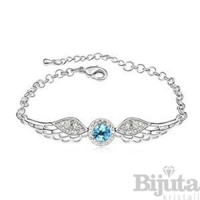 Гривна Ангелски крила аква