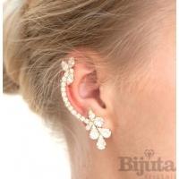 Ушите, превърнати в бижута с обеци за цялото ухо