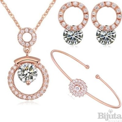 Комплект Киара лукс розе голд