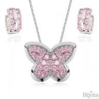 Комплект Пеперуда розе