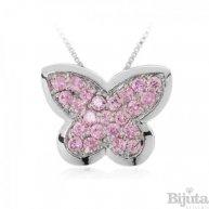 Колие Пеперуда розе