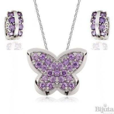 Комплект Пеперуда виолет
